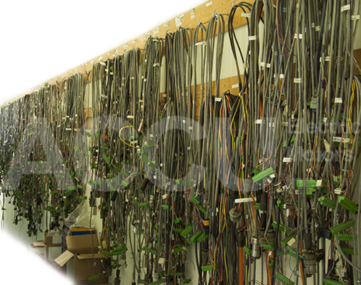 Cables used for servo testing